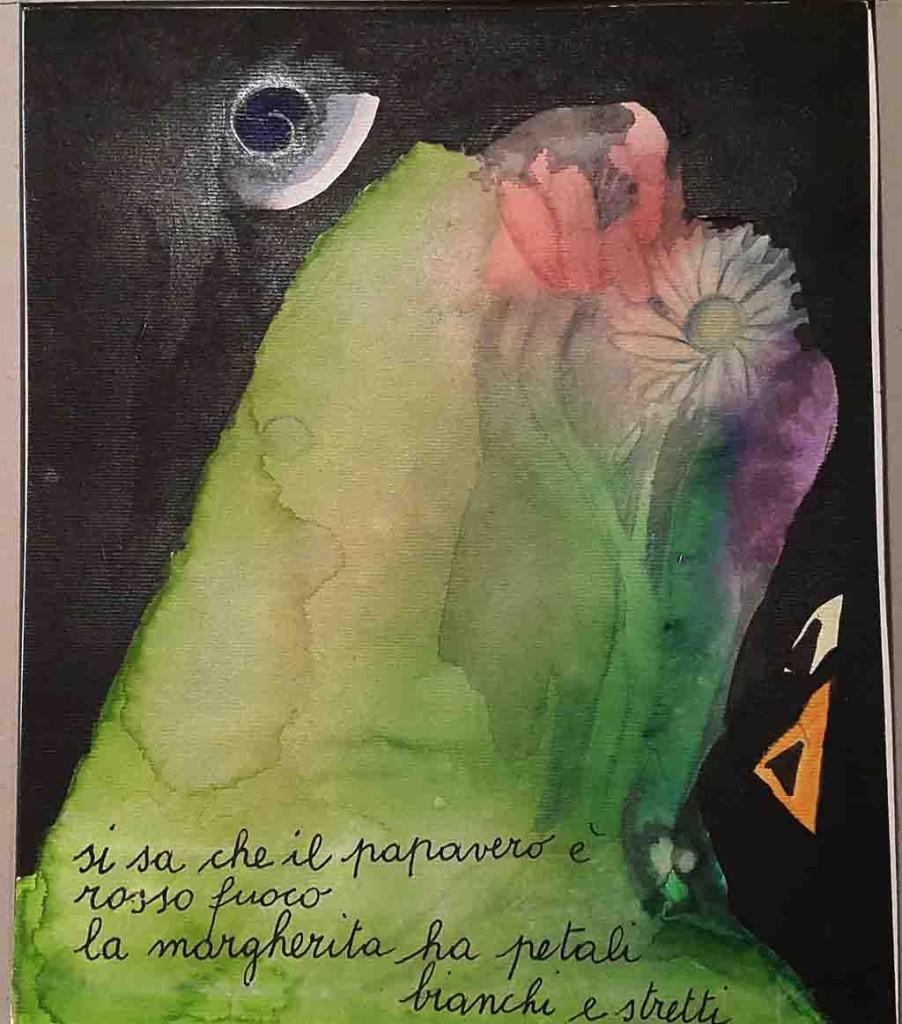 I colori delle vocali, Pavia, 13