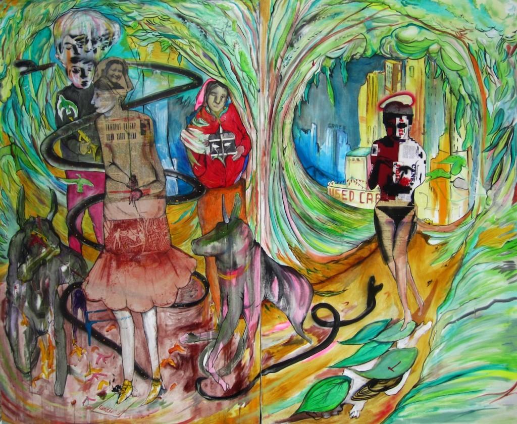 Ryan Spring Dooley, La giostra, 2015