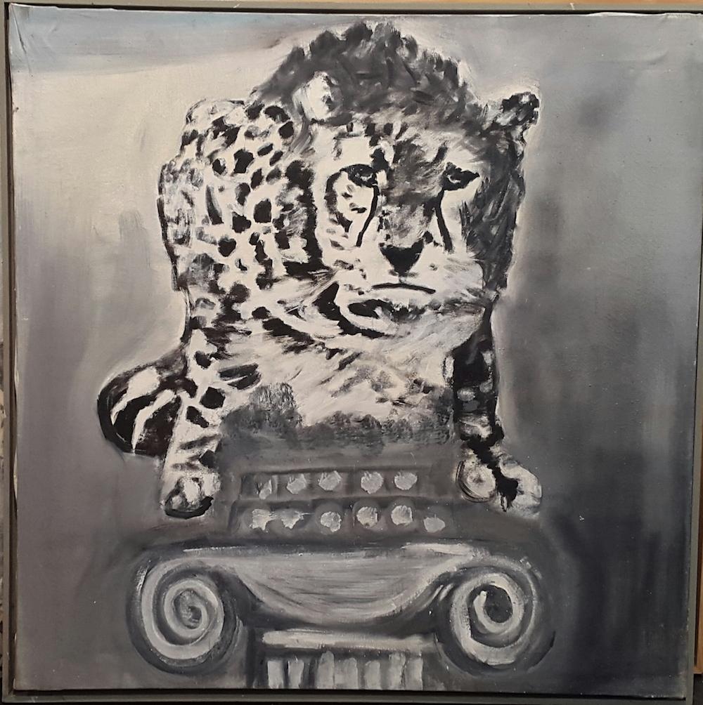 E. Mitrovich, Un gattopardo, 2009
