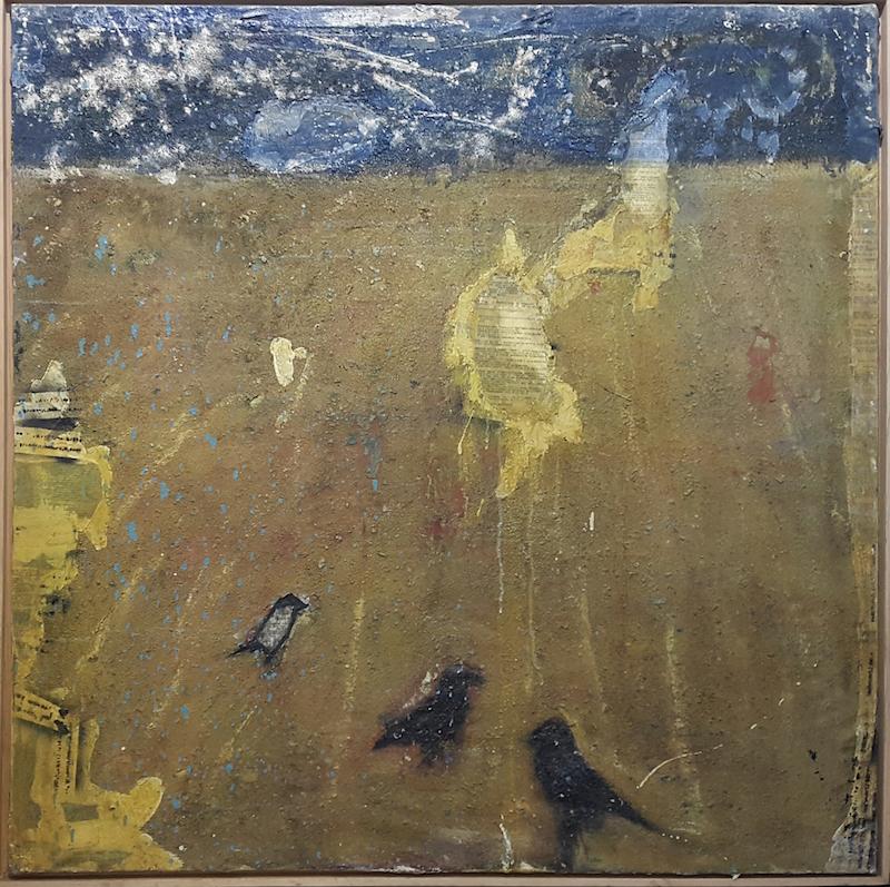E. Mitrovich, Tre corvi restaurati, 2007