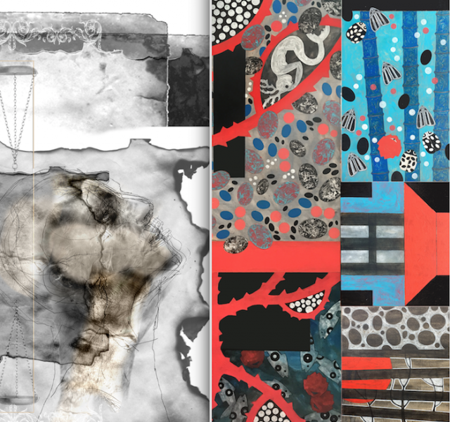 INCATENARSI ALL'ORO E AL VENTO – mostra di Marianna Bussola e Giorgio Cecchinato